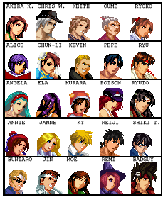 Character Select by Ryoga-rg