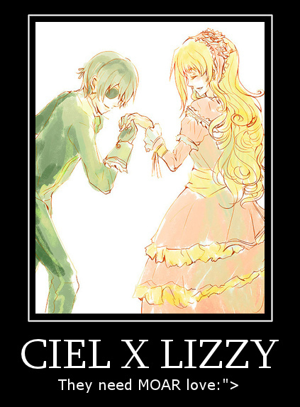 Ciel and Lizzy by TheShortySwag