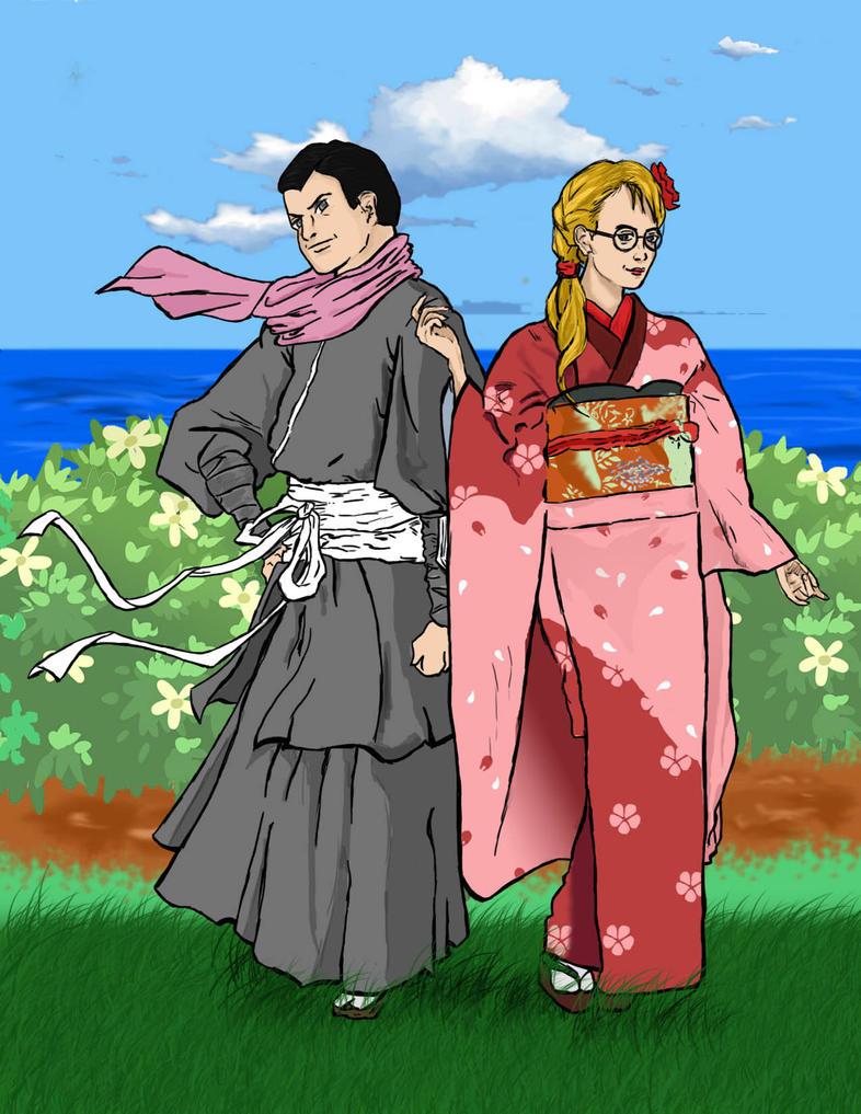 Russel Kimono by goofynas