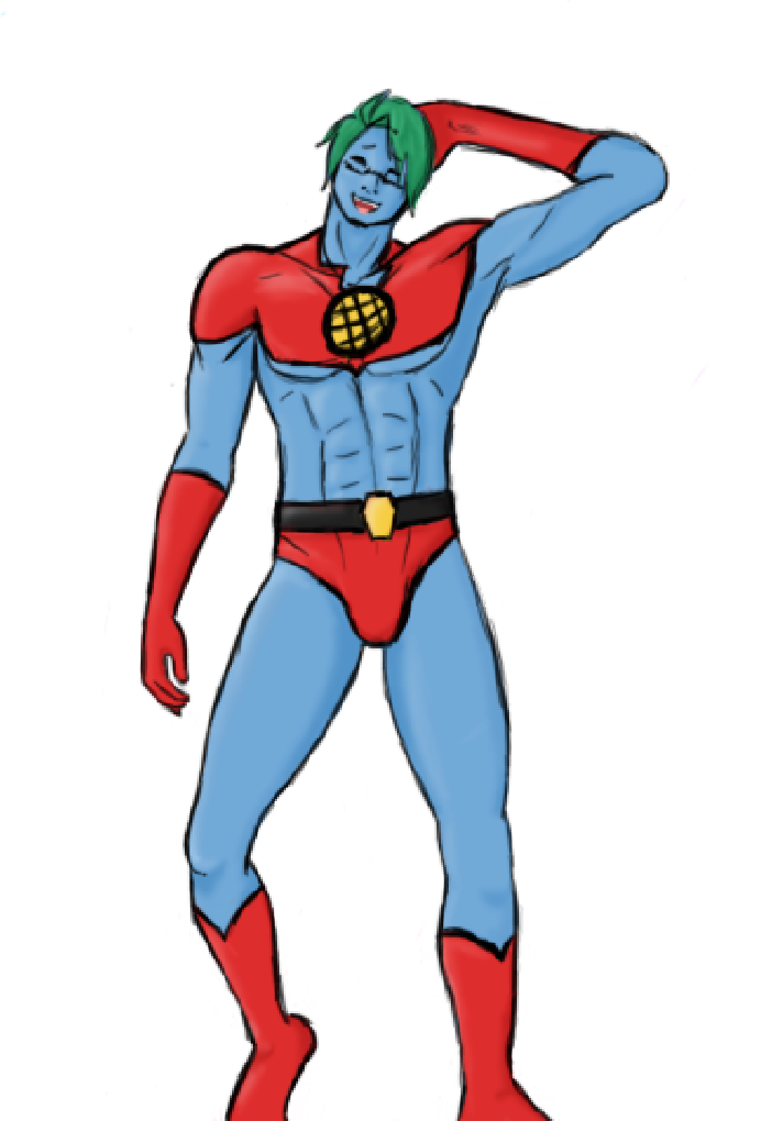 Art Trade: Captain Planet-US by WolfAngel9813 on DeviantArt