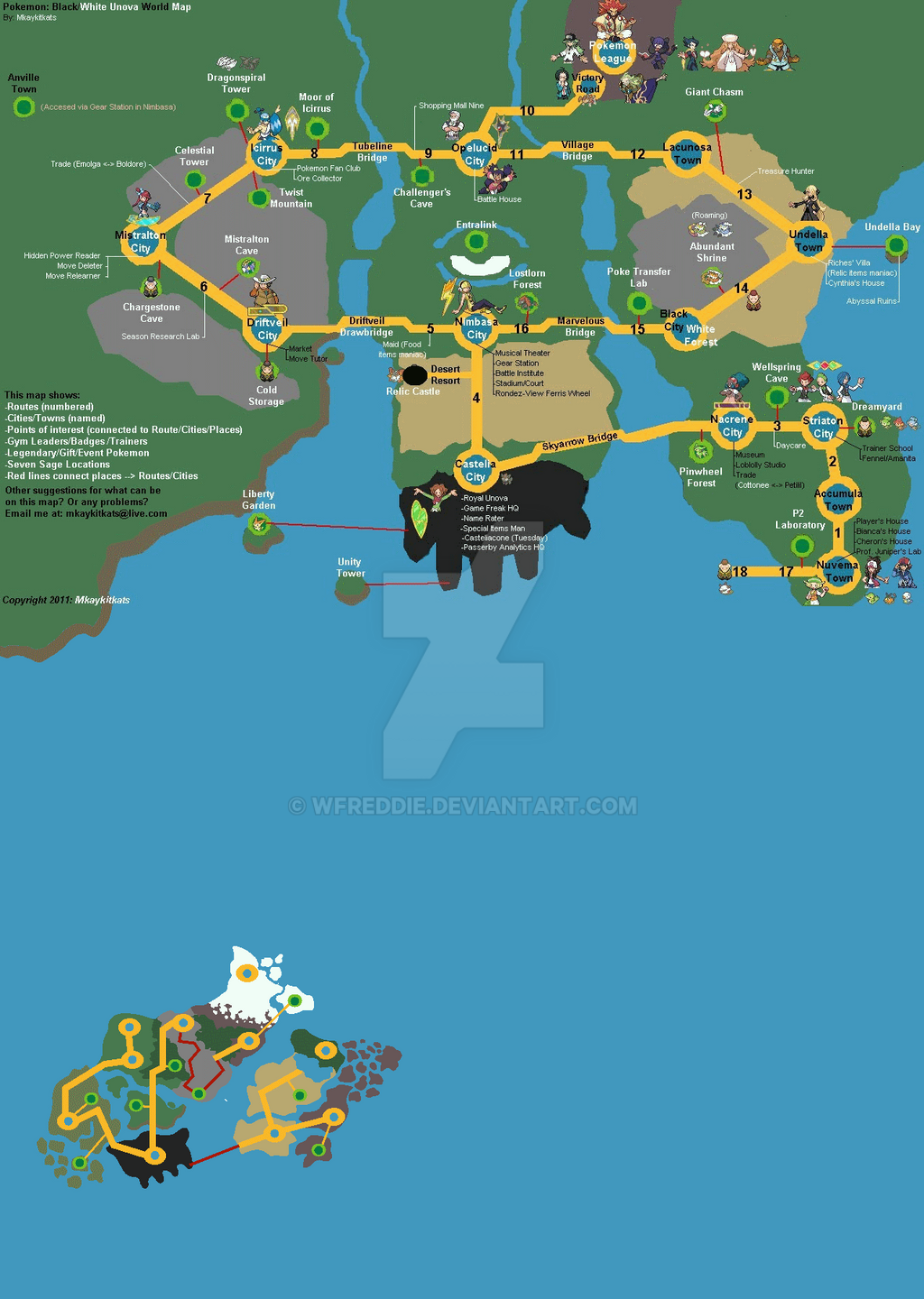 Pokemon World Map Images Pokemon Images