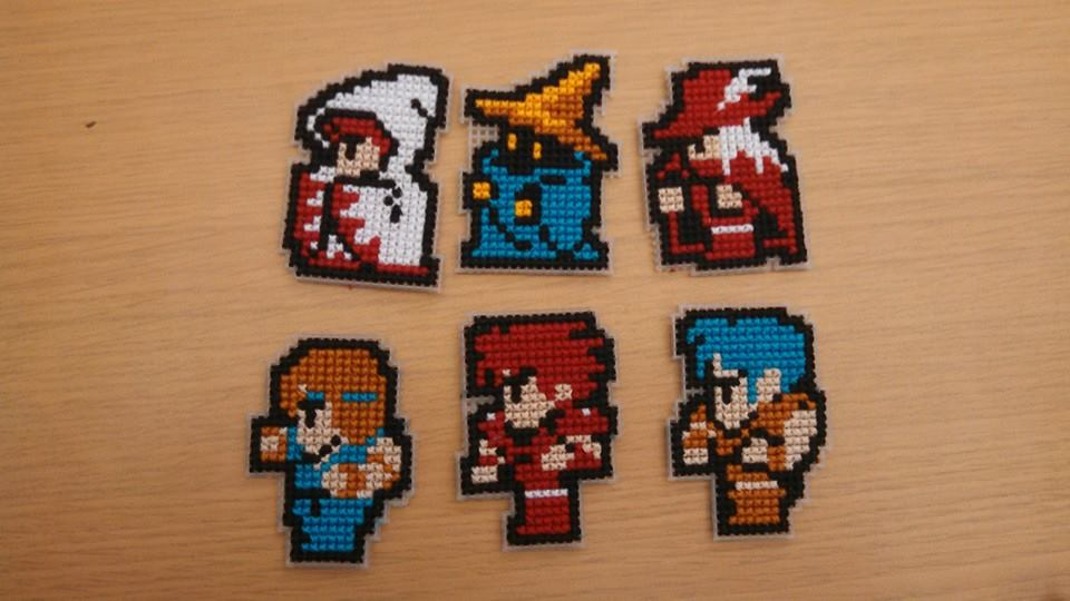 Final Fantasy I Sprites by GaialeiStrife