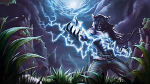 Thunder Storm - Skyiler by foxlau