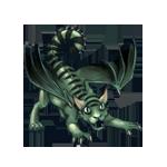 LabirynthDragon Hatchling: Greenery Color Pattern by LalunaCatchadora
