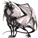 Aciddragon Adult: White Pattern. by LalunaCatchadora