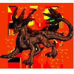 Earthdragon Adult: Vulcanic Pattern by LalunaCatchadora