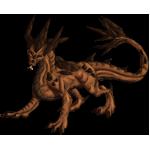 Earthdragon Adult: Eath Pattern by LalunaCatchadora