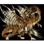 Jungledragon Adult: Bengal Pattern by LalunaCatchadora