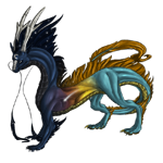 Nightdragon Adult: Sunrise Pattern by LalunaCatchadora