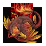 PhoenixDragon Teen: First Color Pattern by LalunaCatchadora