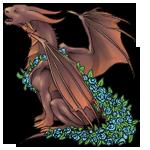 ParadiseDragon Adult: Chocolate Pattern by LalunaCatchadora
