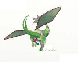 Flygon by tamaneko-i-b