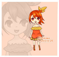 // Adoptable 005 - Gijinka Torchic // open by tamaneko-i-b