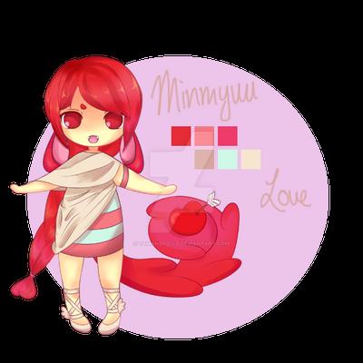 [Adoptable] Minmyuu - Love (open) by tamaneko-i-b