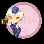[Fanart] Persona 3 - Elizabeth Chibi by tamaneko-i-b