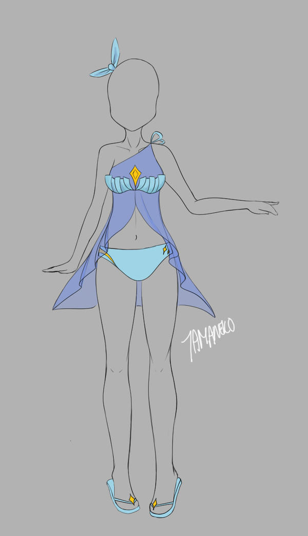 [OPEN] Outfit Adopt 0002 by tamaneko-i-b