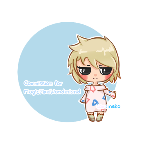 [Commission] Minipeep Cakey by tamaneko-i-b