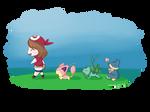 [Speedpaint] Pokemon - Chibi May + Pokemon
