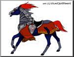 Ganondorf's Horse by Silent-Hoofbeats
