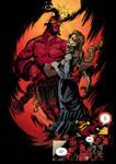 Hellboy and Alice