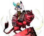 Pachivachi, The Degu Rider of Mars