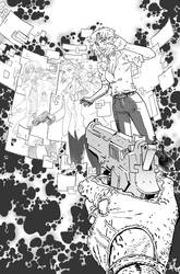 DEEP STATE #5 cover BW