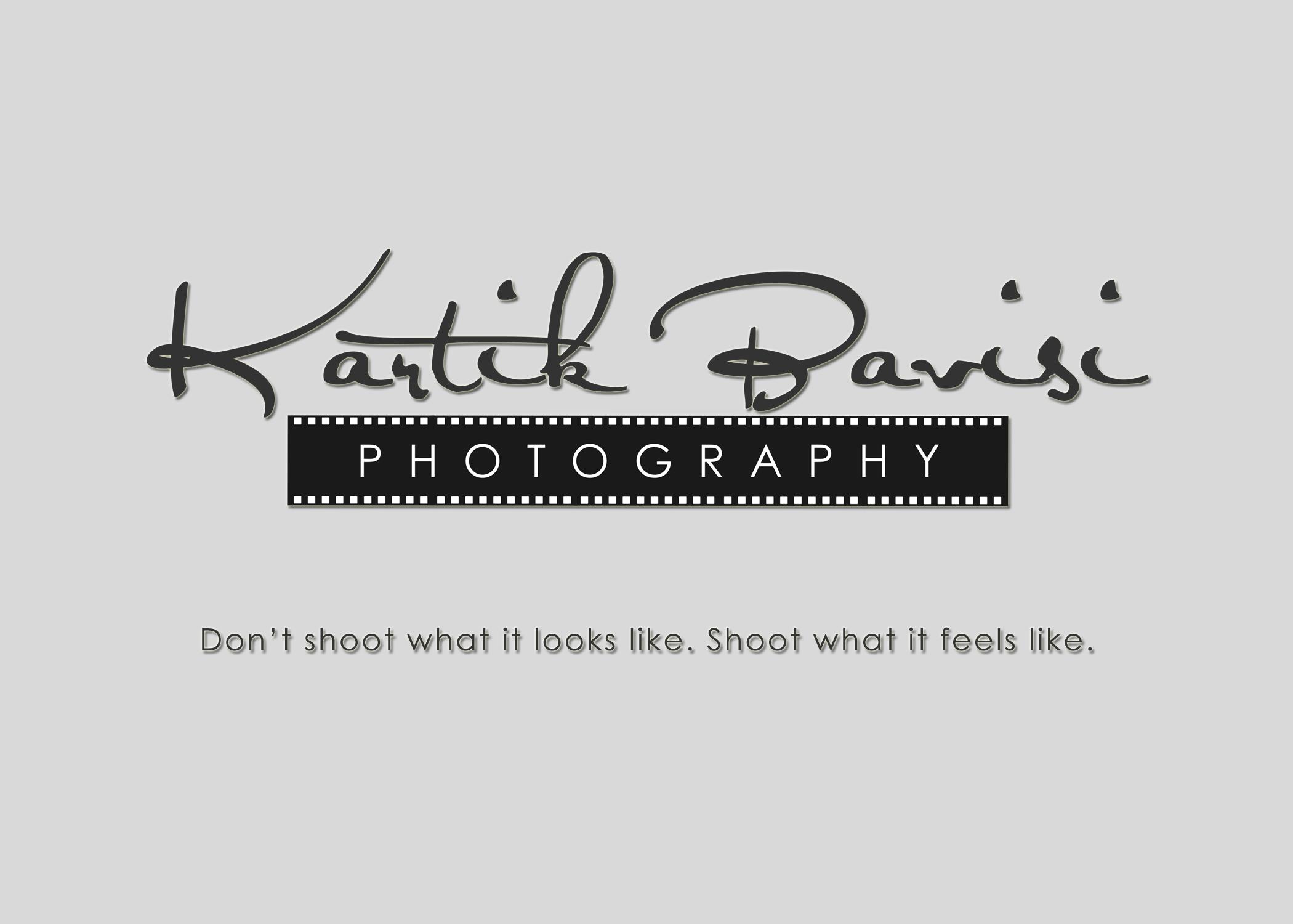 Kartik Bavisi Photography Logo