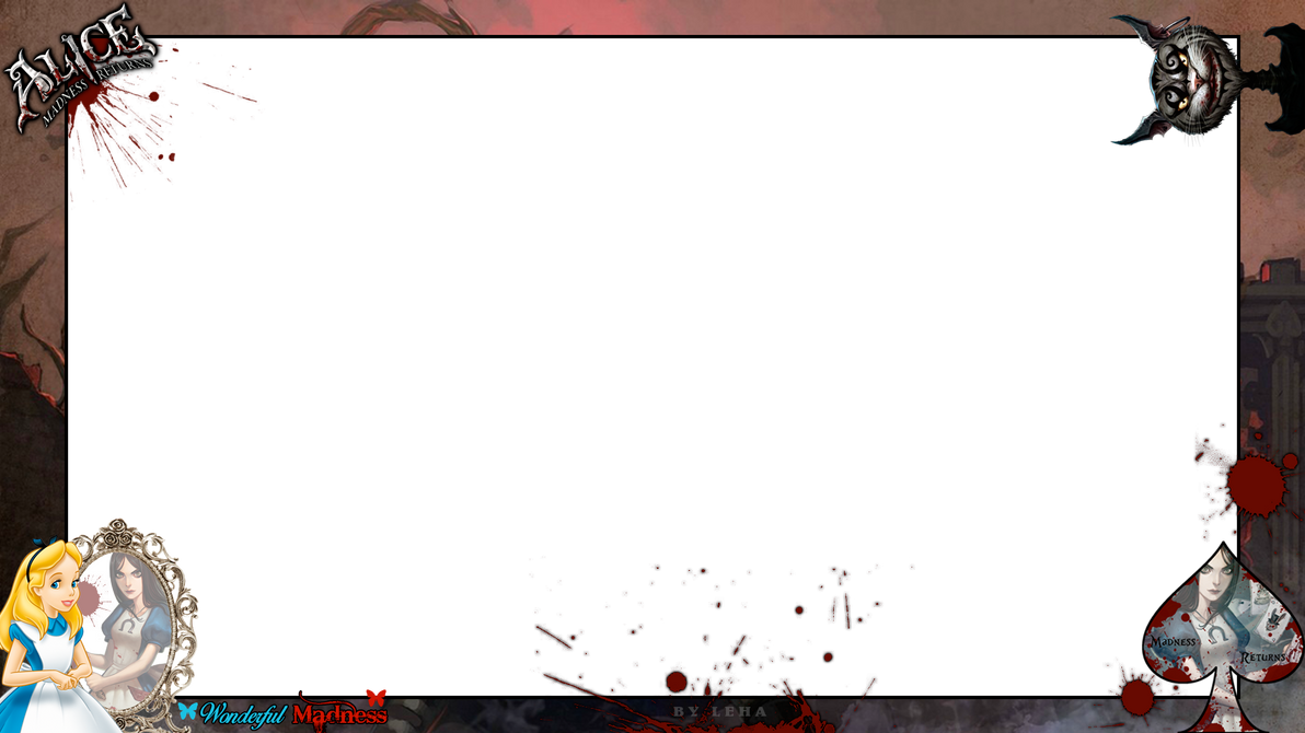 Overlay Twitch - Alice Madness Returns by LehaCreation on DeviantArt