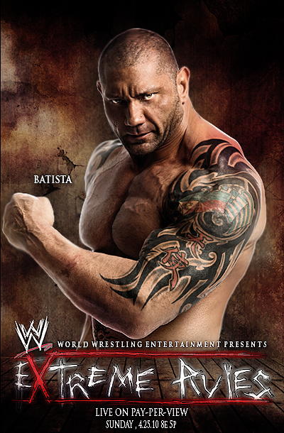 wwe Extreme rules 2010 Poster by DecadeofSmackdownV2