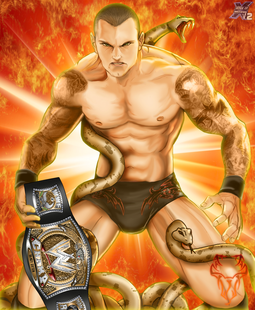 Randy Orton The Champ Viper By Decadeofsmackdownv2 On