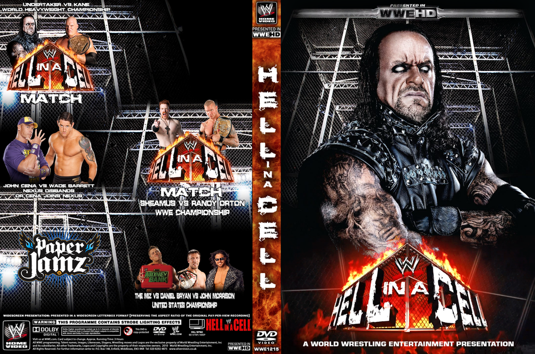 WWE hell in a Cell 2010 Cover by DecadeofSmackdownV2