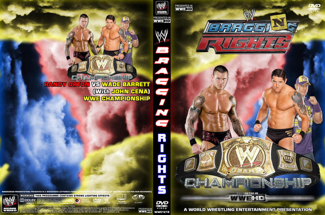 WWE Bragging Rights 2010 cover by DecadeofSmackdownV2