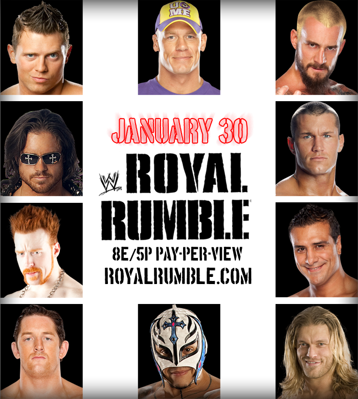 WWE Royal Rumble 2011 Poster by DecadeofSmackdownV2