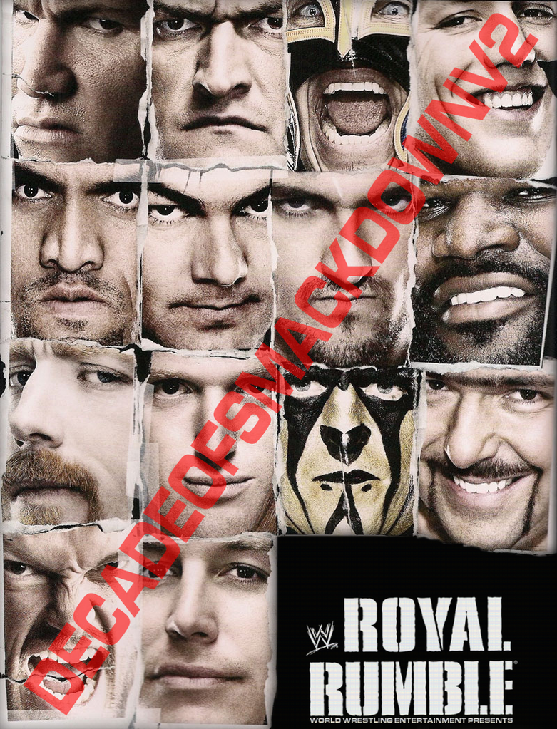 Poster WWE Royal Rumble 2011 by DecadeofSmackdownV2
