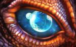 Dragon Eye by MaRoC68