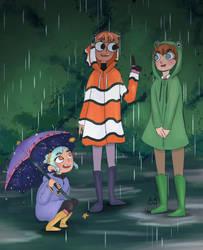 Raining by KikiVonPumpkin