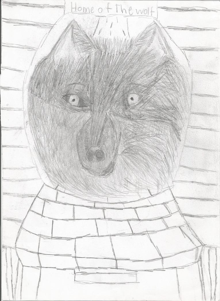 Wolfy by Idonotevenart