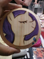 The most graceful of coasters by cutiechibi