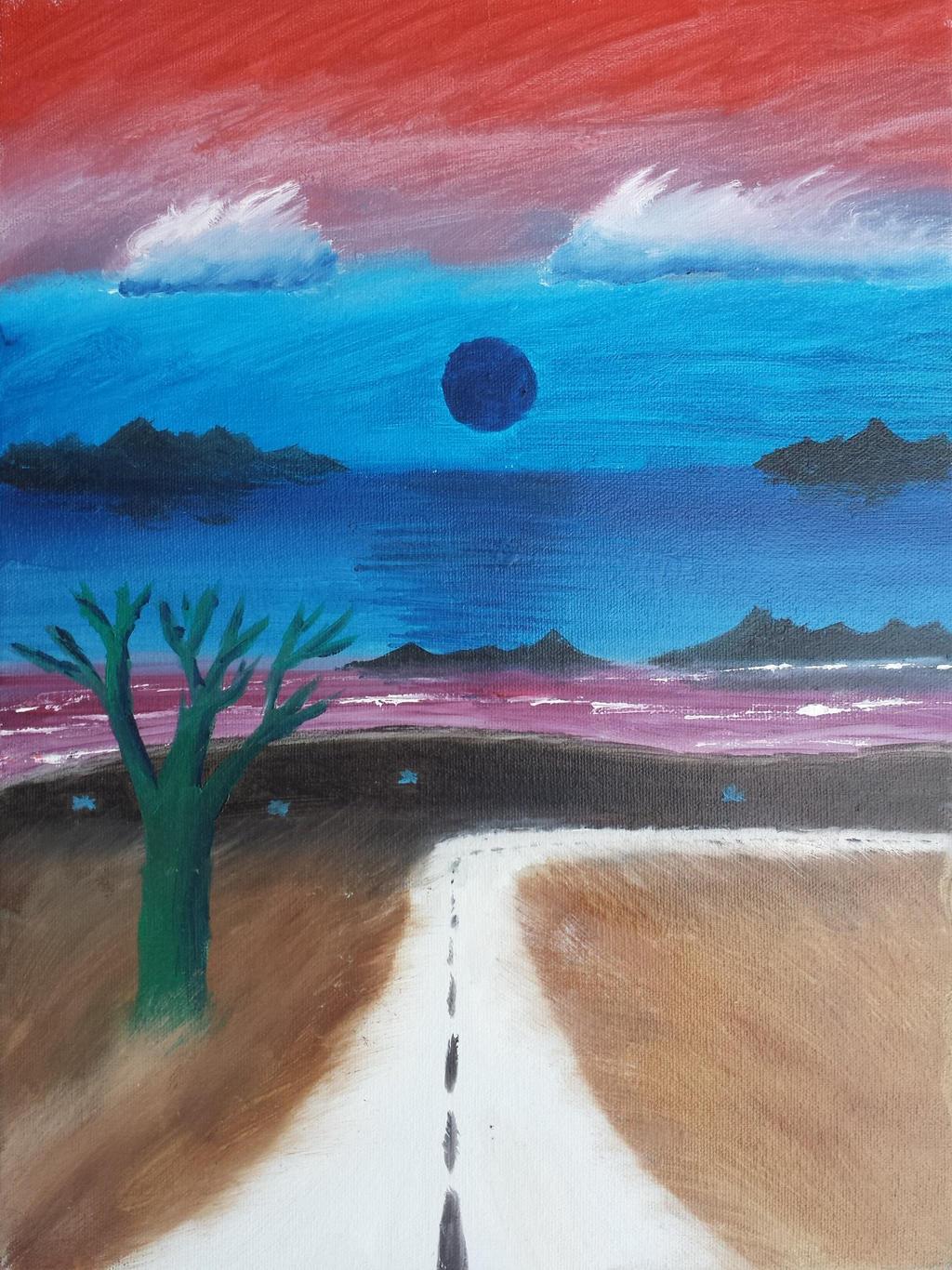 Miscolored Landscape