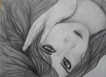 Demonic eyes by RavenAnabell