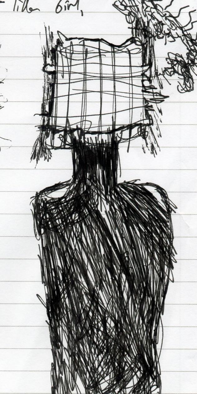 sketch of single-figure [imprisoned series] by lifeforceinsoul