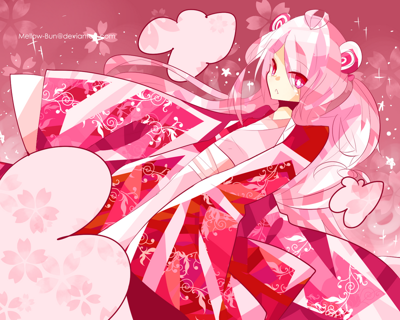 Pink World by Mellow-Bun