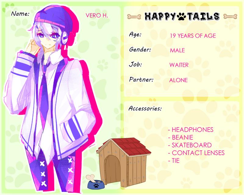 Happy-Tails - Vero H. by Mellow-Bun
