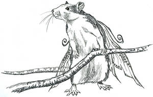 Faerie rat by Moorstream