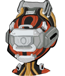 Bot's Valkyr - chibi bust by FoofooDaBoss