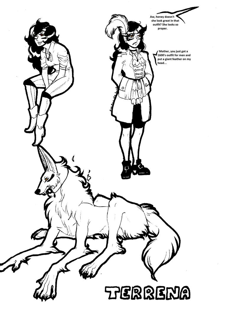 Terrena drawings by FoofooDaBoss