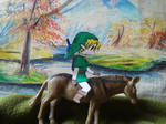 Epona is a donkey today by Pachaluche