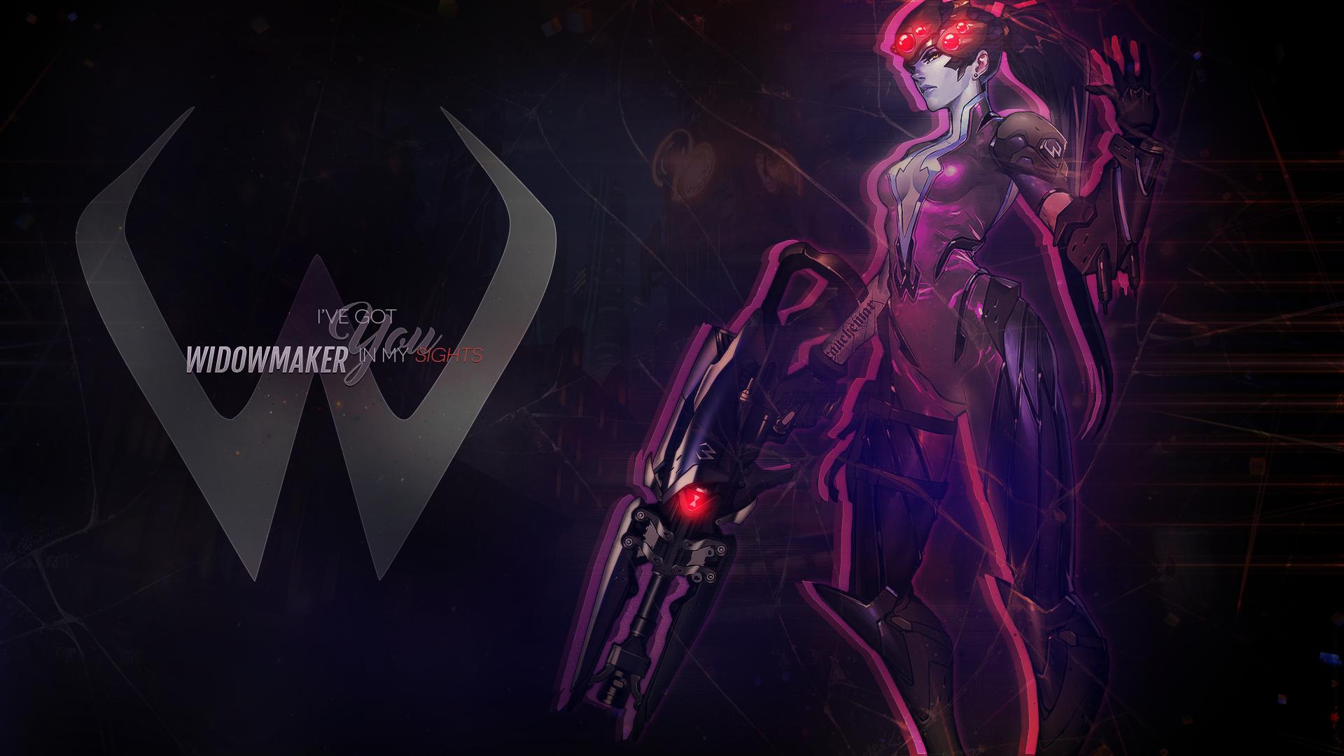 Wallpaper: Overwatch Widowmaker by MirajaneTV