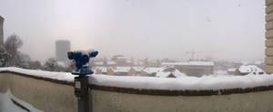 City under snow VI