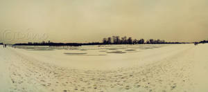 Lake under snow I